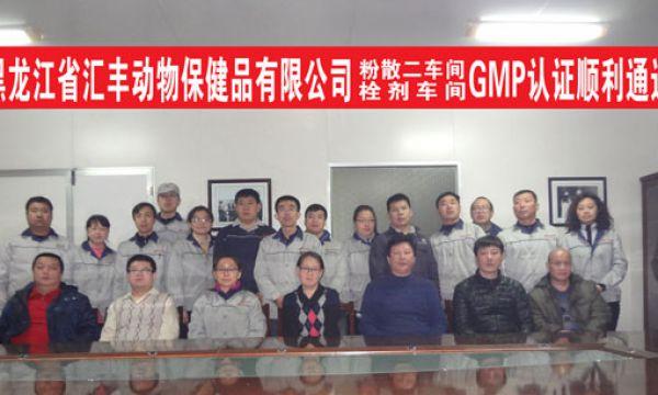 粉散预混剂第二车间 栓剂生产线GMP认证通过